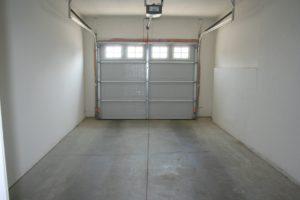 Garage interior of Park West Gardens apartment