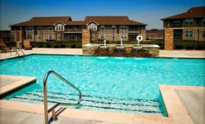 Ironwood Court community swimming pool