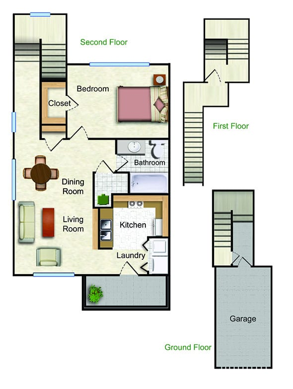 The Lilac Floor Plan