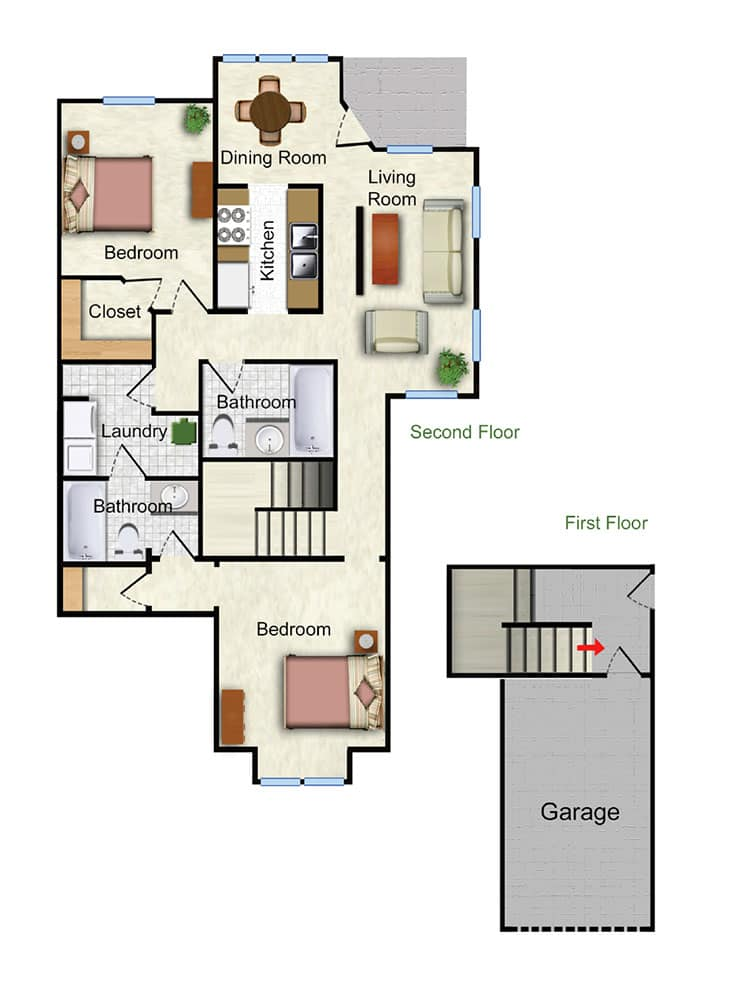 The Marigold Floor Plan