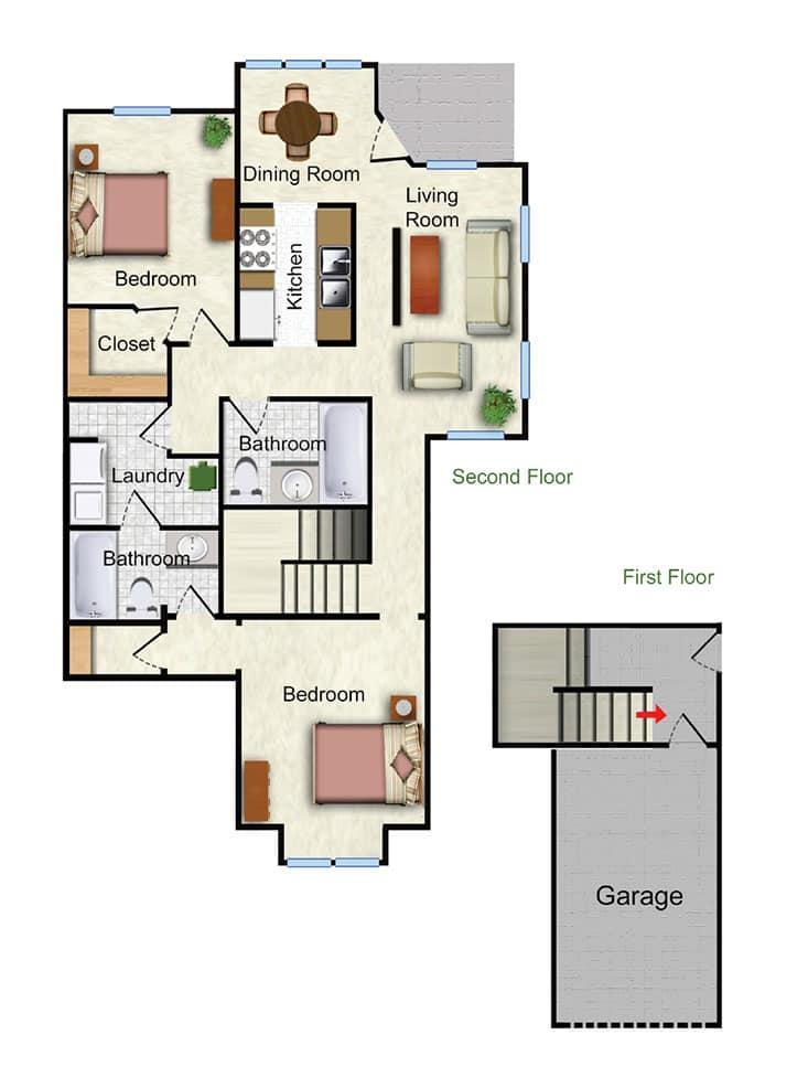 The Marigold Floor Plan