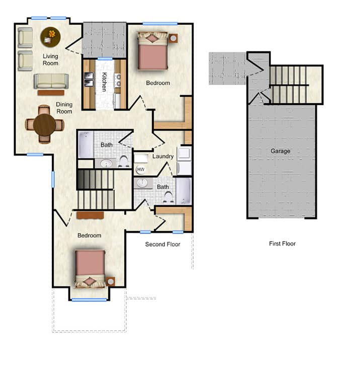 The Tulip Floor Plan